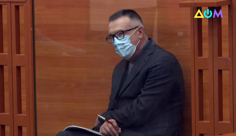 Леонід Кожара на лаві підсудних. Фото: kanaldom.tv